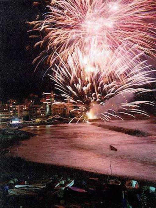 Fireworks Fuochi d'artificio  7-8 Settembre