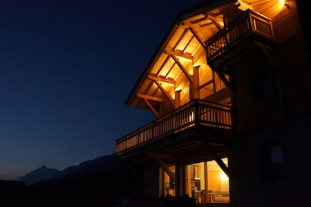 Brand new Chalet with panoramic view for 8 people