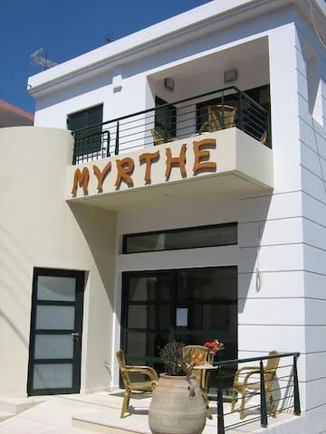 Villa Myrthe, 2 roomapt., Mirtos - Myrtos - Apartment