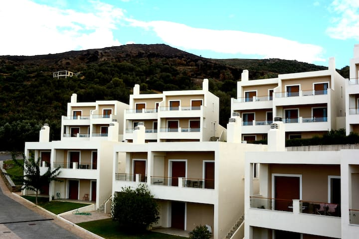 Evia Hotel and Suites' appartments