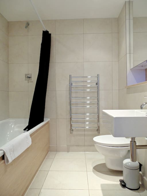 Full Bathroom with Shower over Bath