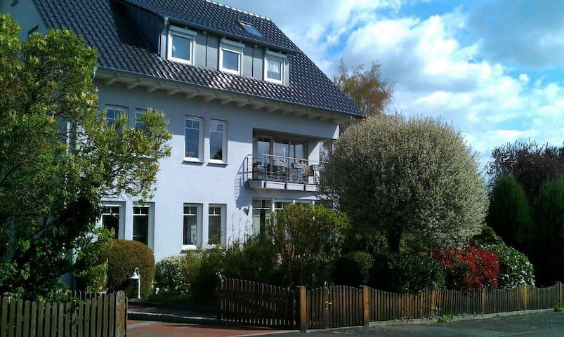 "Ferienwohnung ""Blick zum Grauen Turm"" - Fritzlar - Apartment"