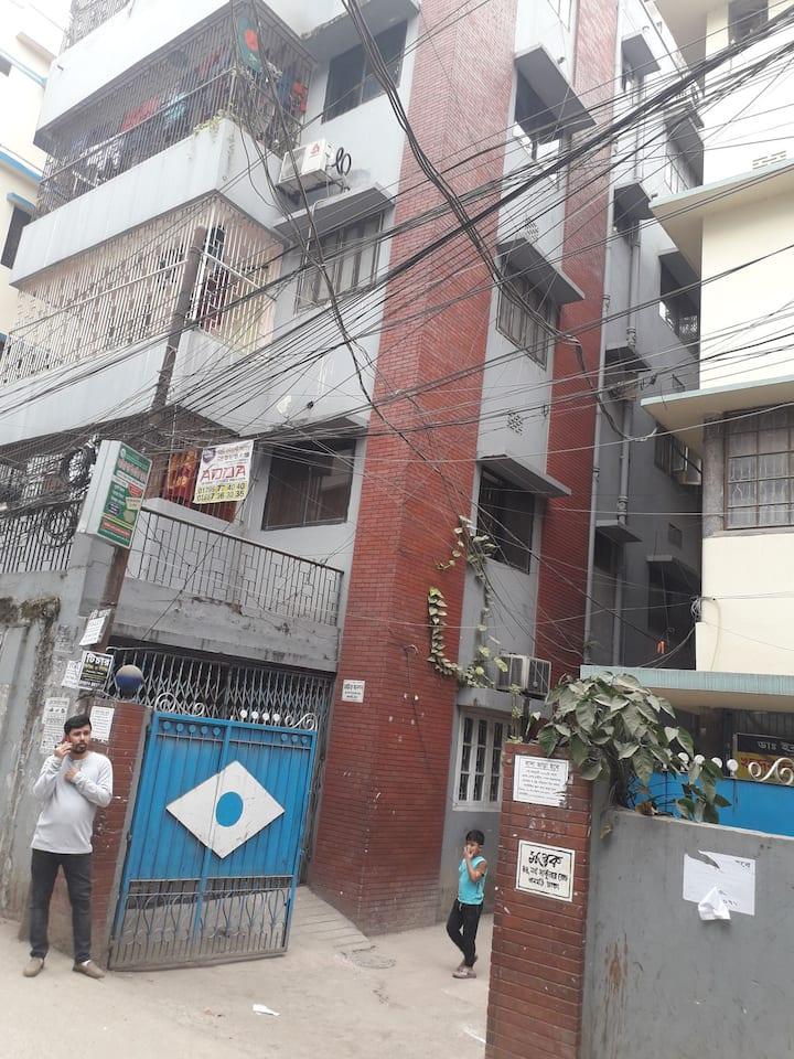 Cozy one bed room flat at the centre of Dhaka