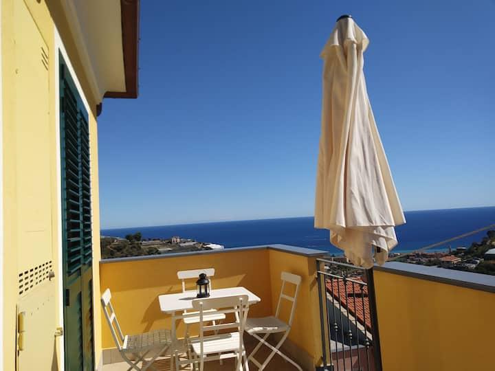 Casetta Gianna - Un buongiorno vista mare