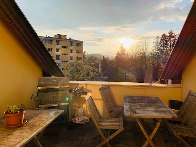 Wohnung Graz University Penthouse Appartement