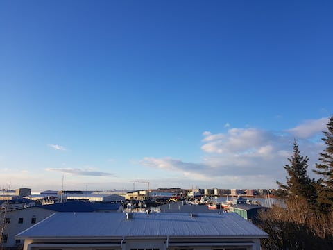The view over the harbour.