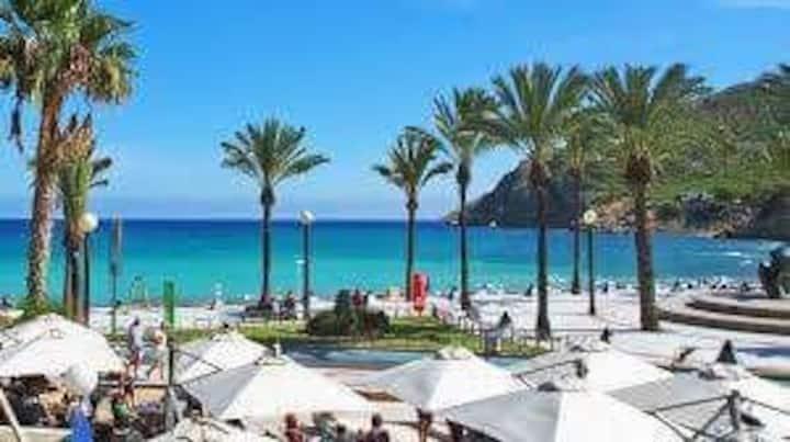 Apart  Albir Sunshine  2 personas a 60 mts playa