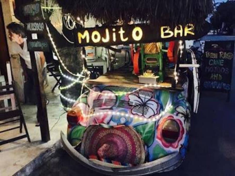 Batey Mojito Bar is located a few blocks away from home, that's one of the places we suggest to visit