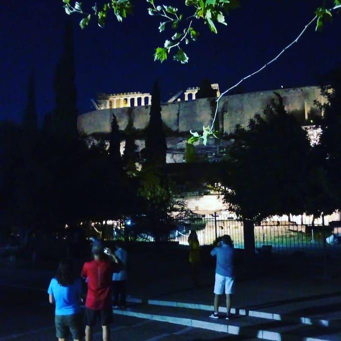 Acropolis monument at 1.6 km