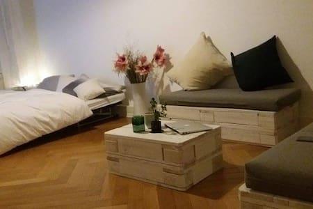 Charmantes Zimmer in Stuttgart Mitte/Halbhöhenlage - Stuttgart - Apartemen
