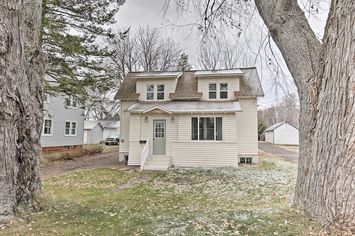 NEW! Charming Home < One block to Lake Superior!