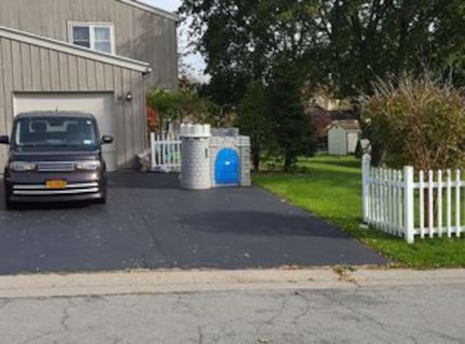 Free Off Street & Inside Garage Parking
