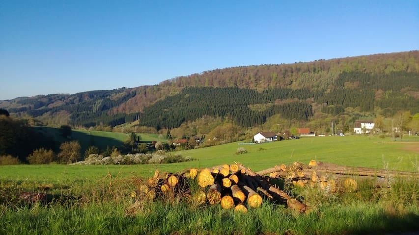 Eifel rustig en natuurlijk logeren - Zendscheid - ที่พักพร้อมอาหารเช้า