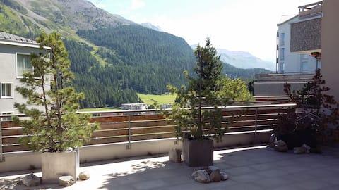 Квартира целиком с большой панорамной террасой