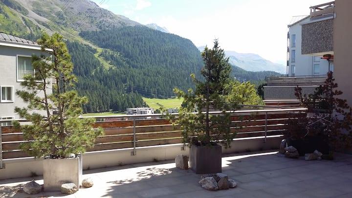 Intero appartamento con grande terrazzo panoramico