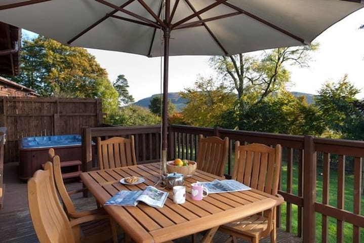 Copper Beech Lodge - Cupar - Hus