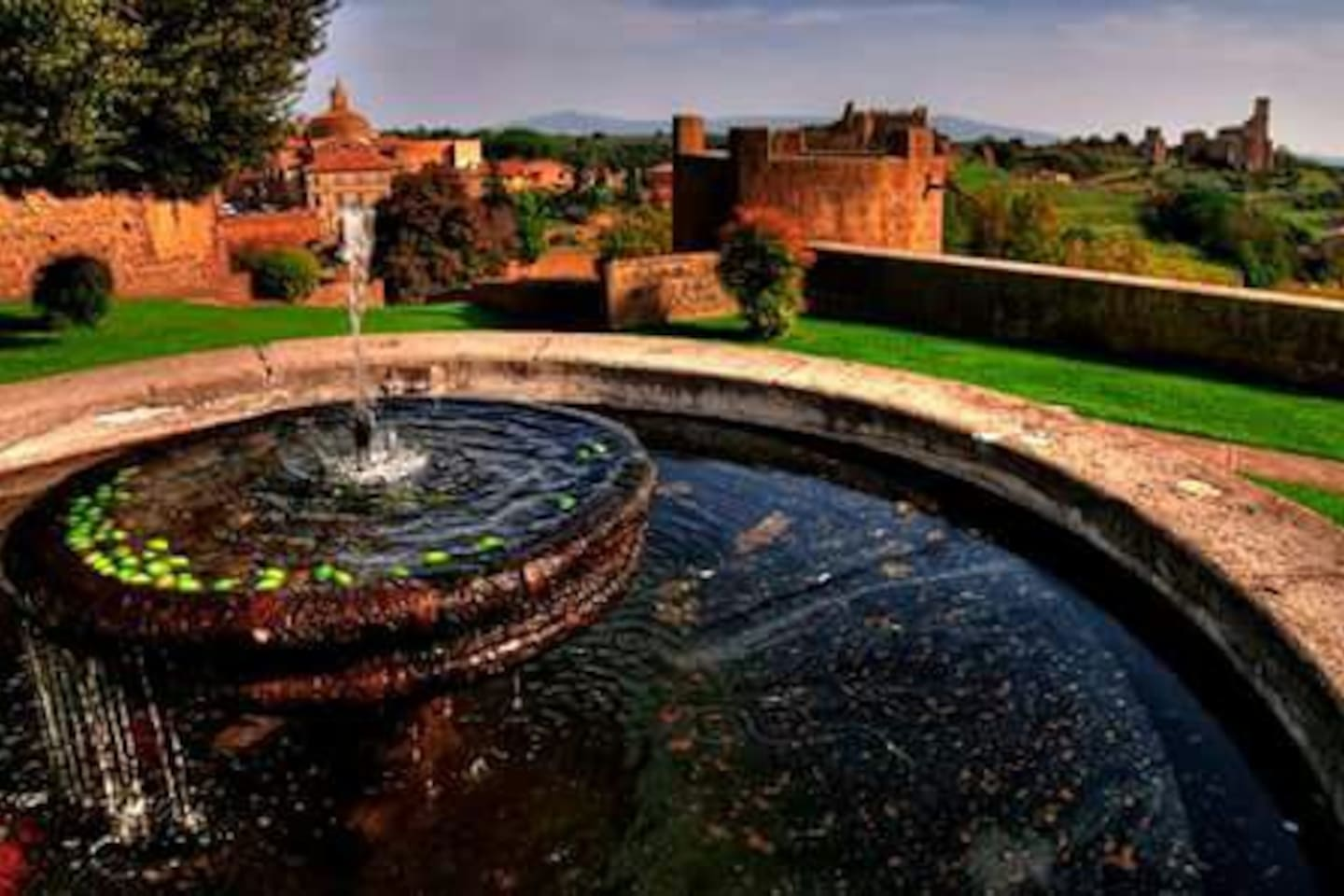 Tuscania Torre di Lavello Park open to the public for picnics and events.