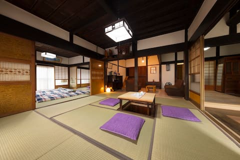 1hour from Tokyo,stay and see real rural Japan