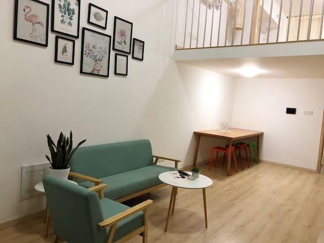 北欧小清新复式公寓