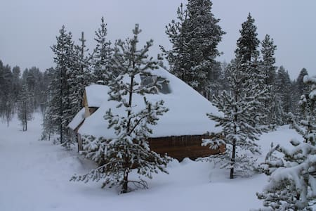 Aurora husky hut - Inari