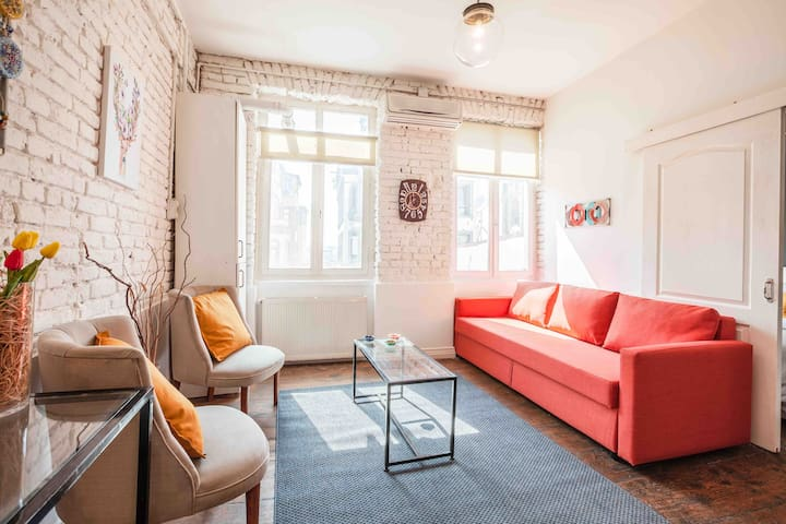 Historical Comfy Flat in Taksim - 21