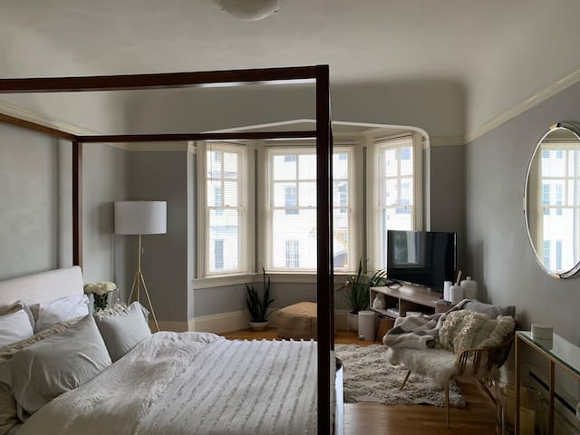 Charming, Spacious Bedroom/Bath in Pacific Heights