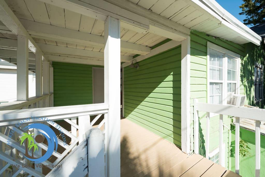 Front Porch and Front Door
