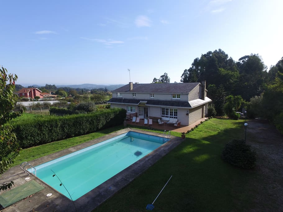 Galicia Villa With Pool