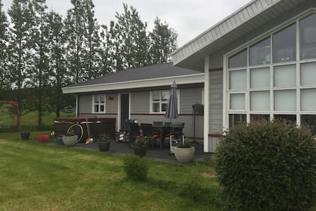 Charming, romantic, spacious and beautiful house - Flúðir - 小平房