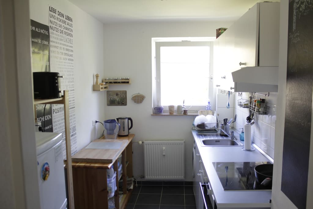 Big well equiped kitchen