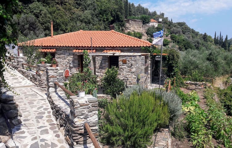 Stone-built Cottage in Samos