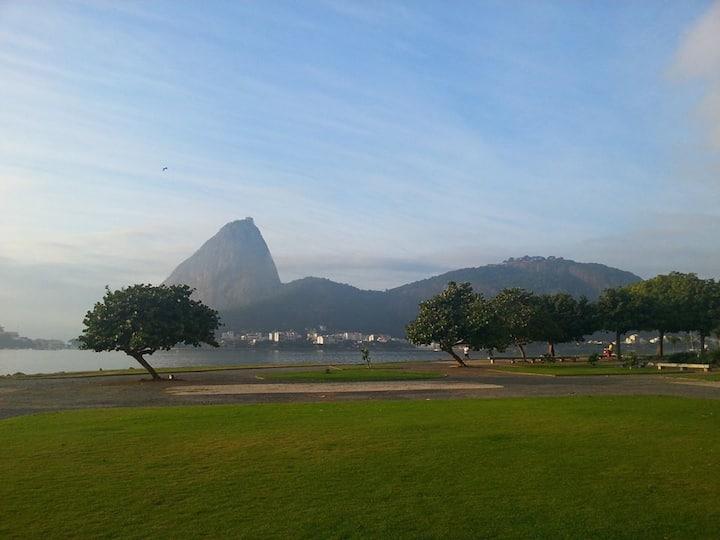 Apartamento exclusivo-Quadra da Praia do Flamengo