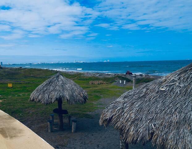 Casa playa alberca veracruz boca del rio Riviera