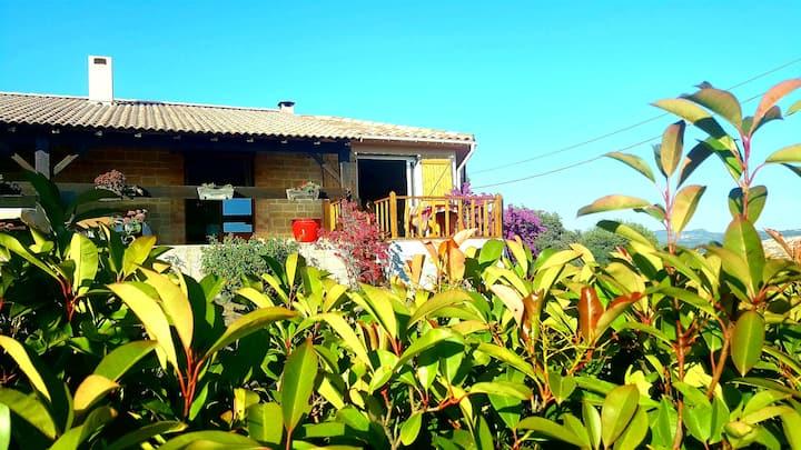 Location indépt 60m2 dans villa près Bonifacio