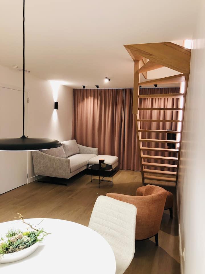Scandinavian luxe suite