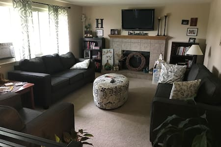 3 Bedroom House in small town along I-80
