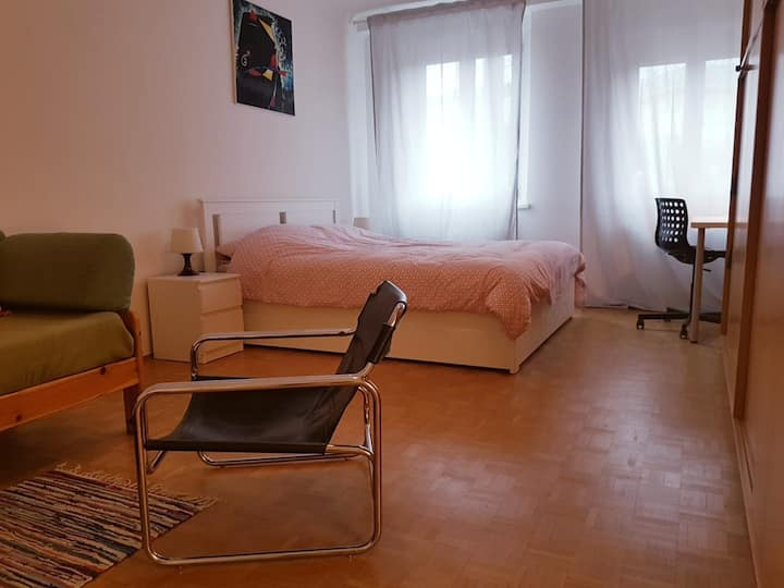 Comfortable double room for long term