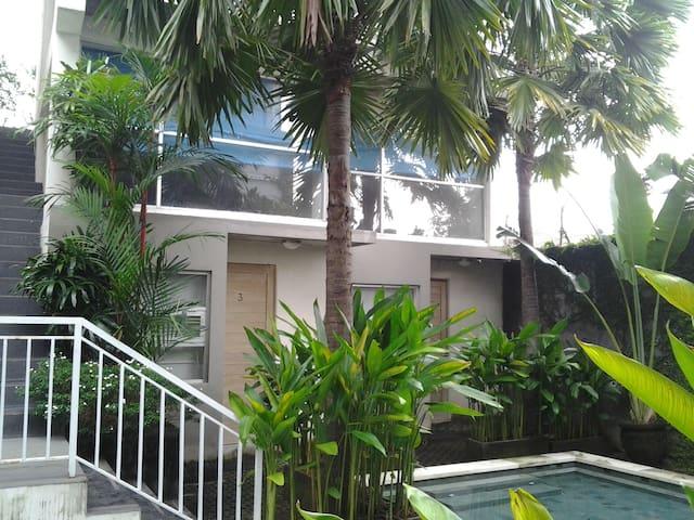 A Loft Apartment #3 w/ pool in Denpasar