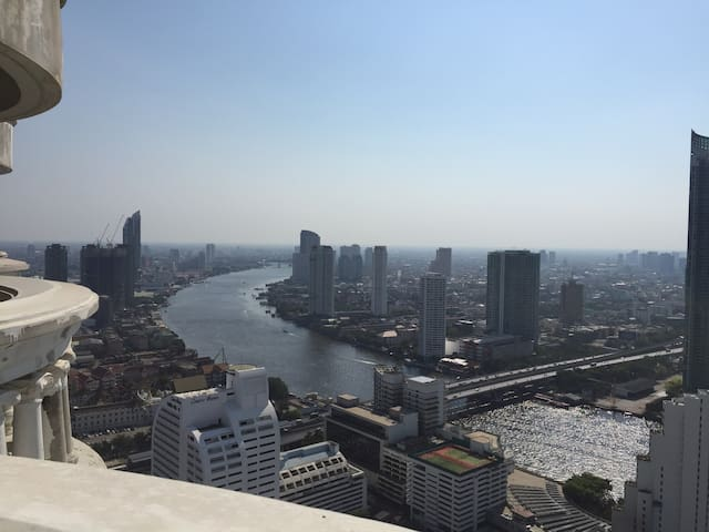beautiful flat in Lebua State tower with view - Bangkok - Apartament