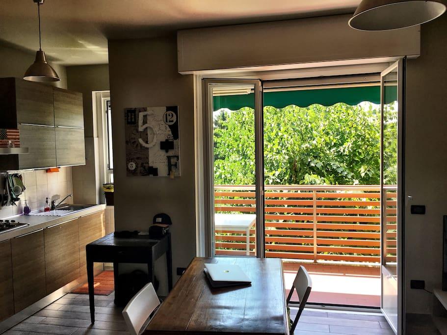 Zona giorno - Living room