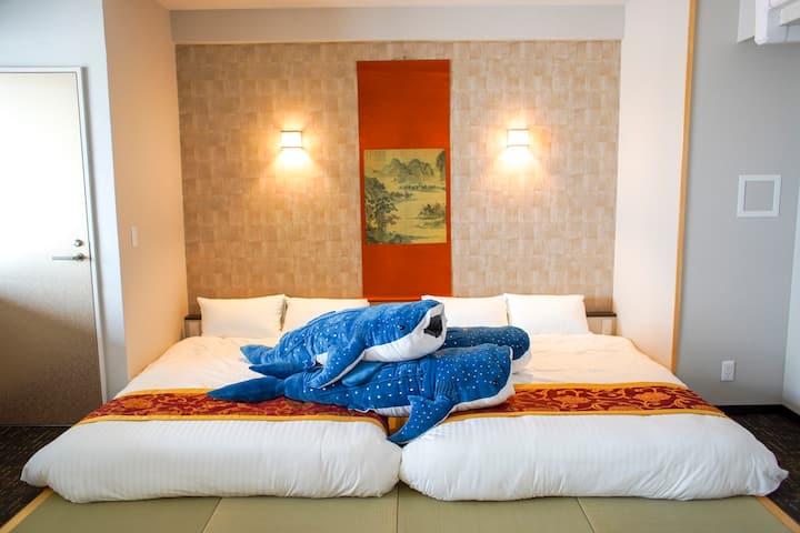メゾネットスイート和洋室✿(A)type✿沖縄初の全室メゾネットスイート✿