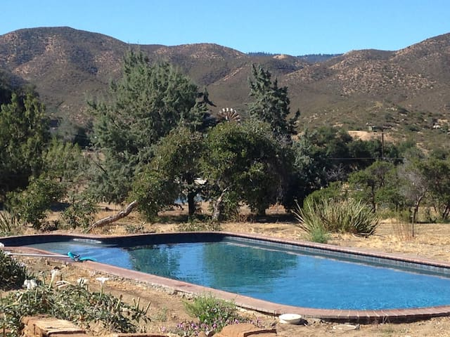 15 Acre Ranch Renovated 2000sqft Adobe House-Pool - Ranchita - House