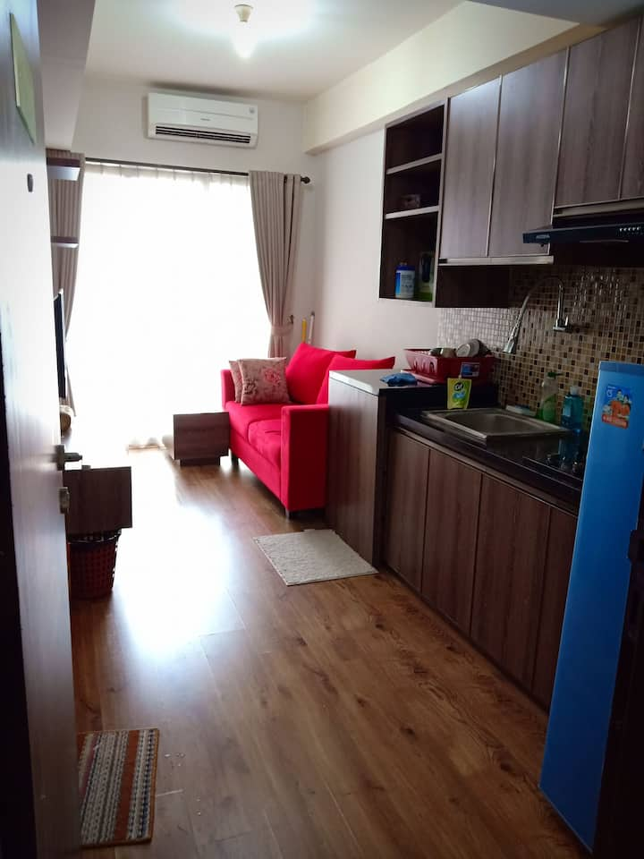 Cozy place 2 BR, Serpong Greenview Apartment