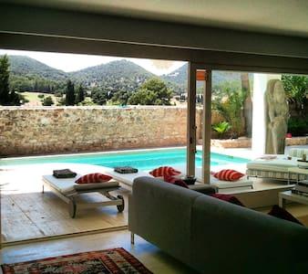 Modern house with private pool and beach. - Santa Eulària des Riu - Ev