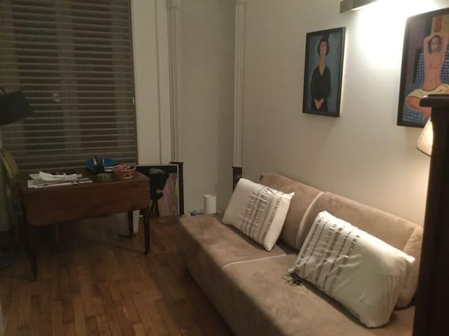 Chambre dans un joli appartement centre ville