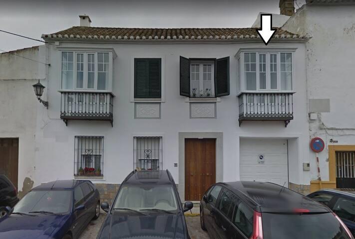 Big room rental. Cute and magic andalusian house.