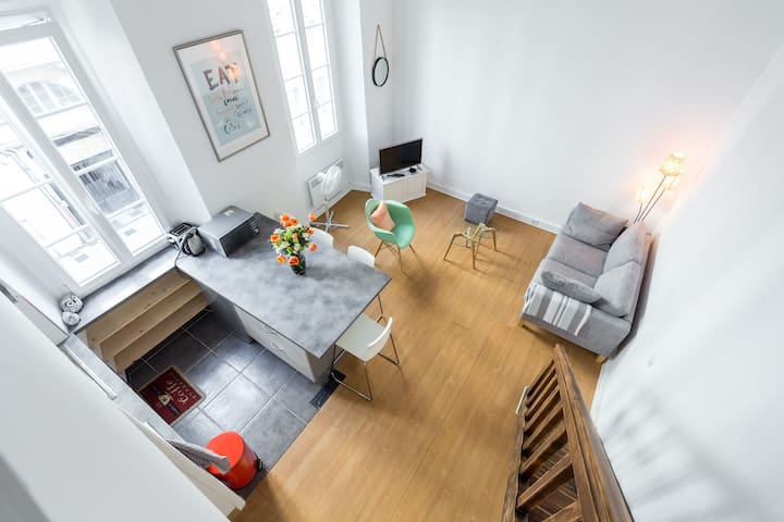 BEAU T2,CARRE D'OR,CENTRE VILLE,A 2MIN MER - Nice - Appartement