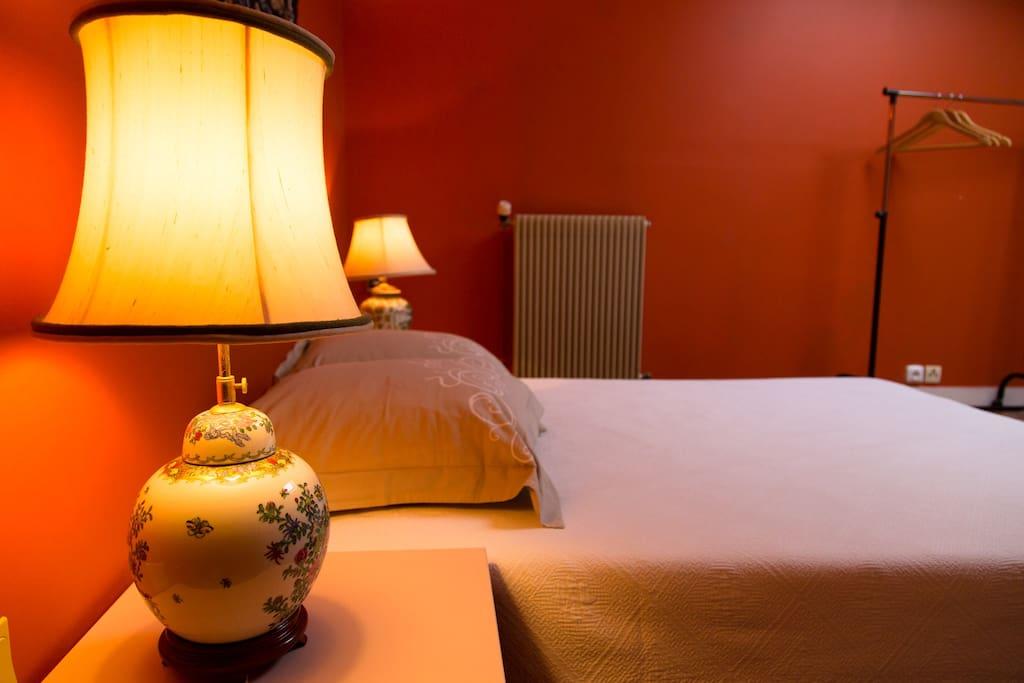 Deux jolies lampes de chevet