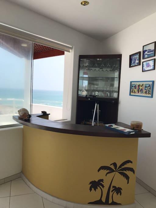 Mini bar Sea View
