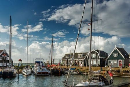Idyllic peaceful spot - 30 minutes from Amsterdam - Marken